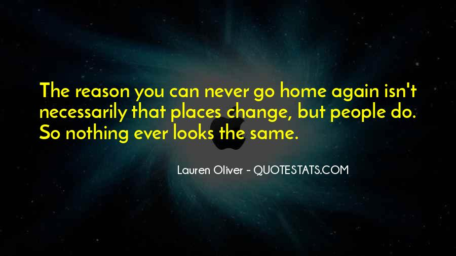 Never The Same Again Quotes #120845
