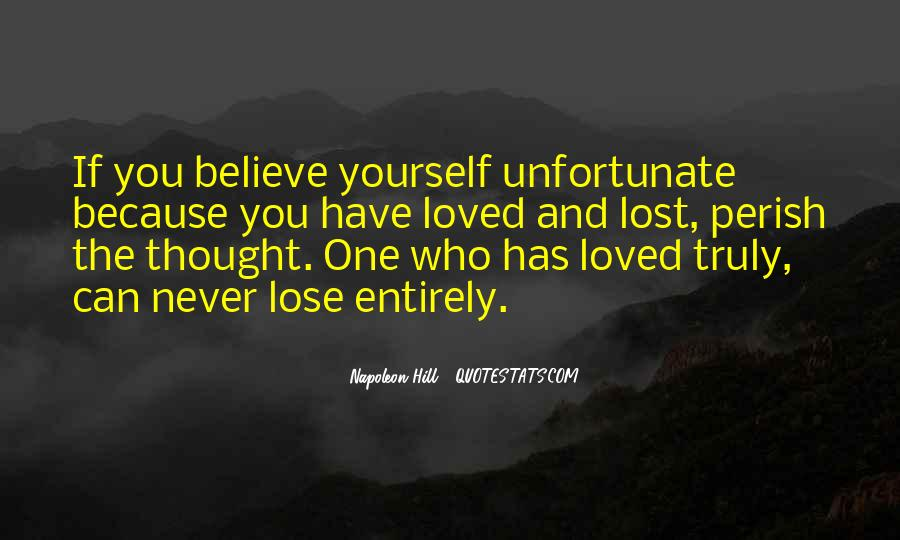 Never Thought I'd Lose You Quotes #1502912