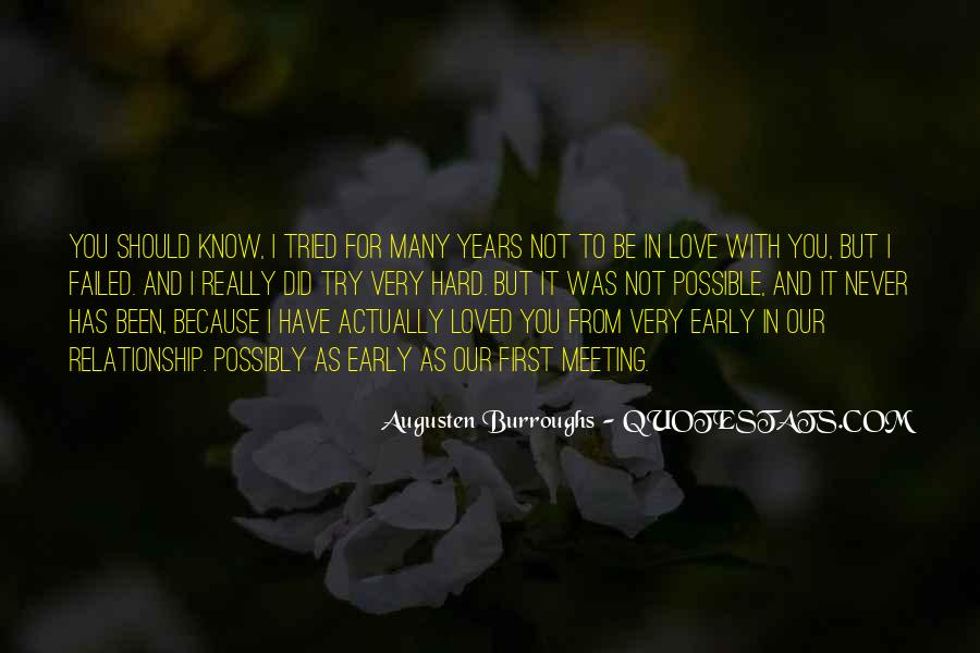 Never To Be Love Quotes #10000