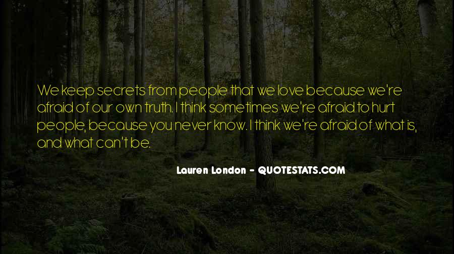 Never To Be Love Quotes #122166