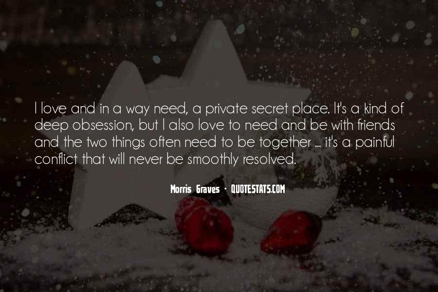 Never To Be Love Quotes #2585