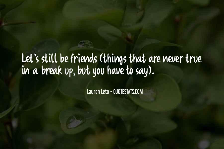 Never To Be Love Quotes #26217
