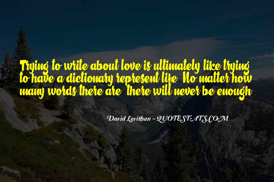 Never To Be Love Quotes #4814