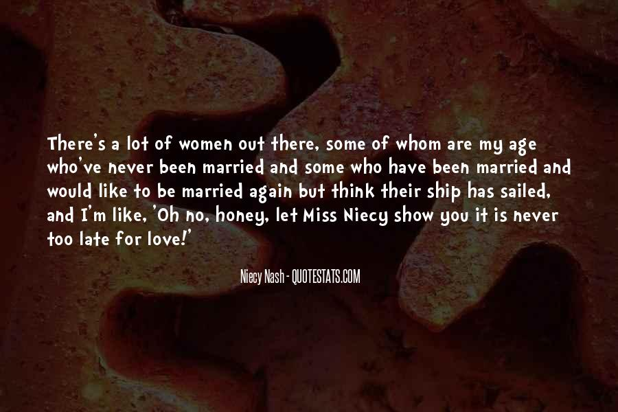 Never To Be Love Quotes #52207
