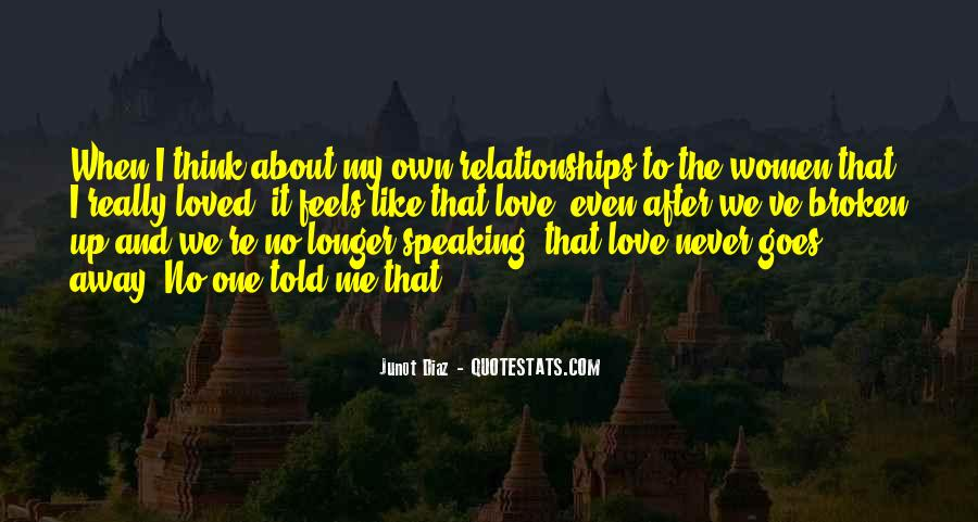 Never Told Love Quotes #1002735