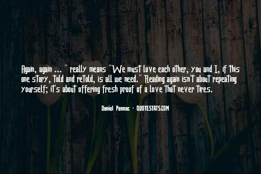 Never Told Love Quotes #60786