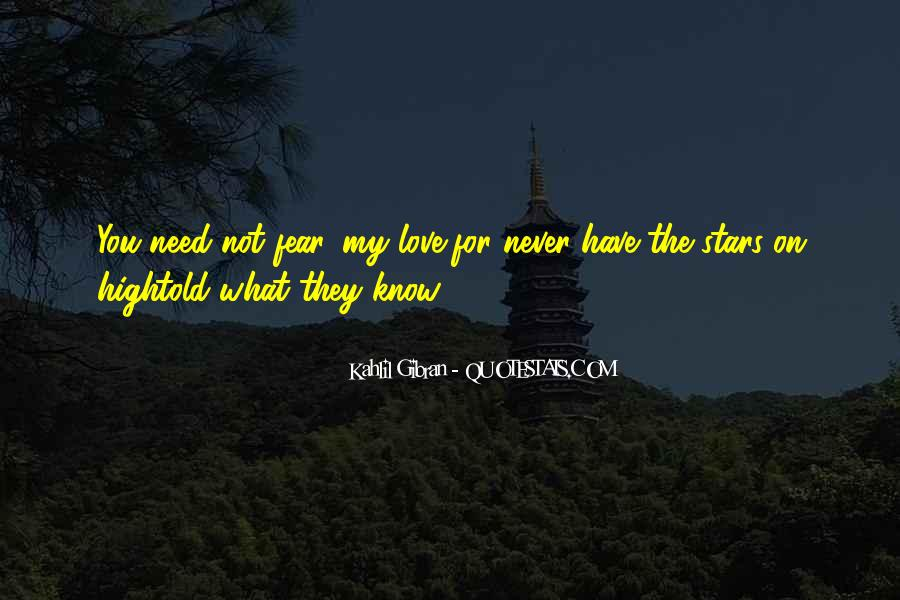 Never Told Love Quotes #77513
