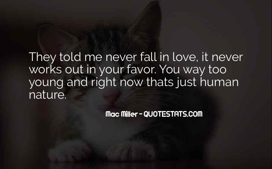 Never Told Love Quotes #848848
