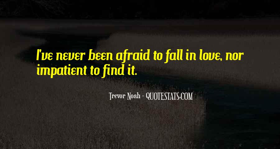 Never Want To Fall In Love Quotes #241863