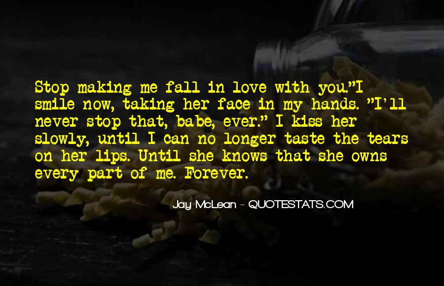 Never Want To Fall In Love Quotes #276643