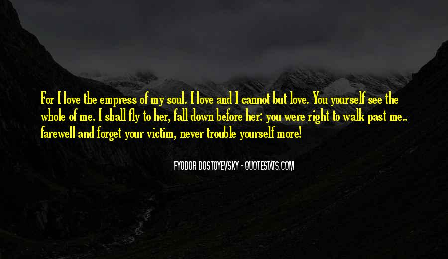 Never Want To Fall In Love Quotes #281393