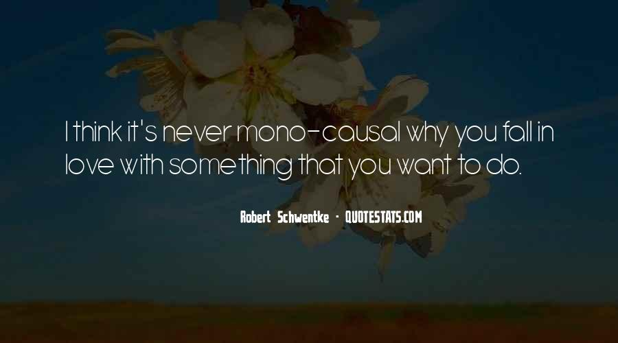 Never Want To Fall In Love Quotes #947360
