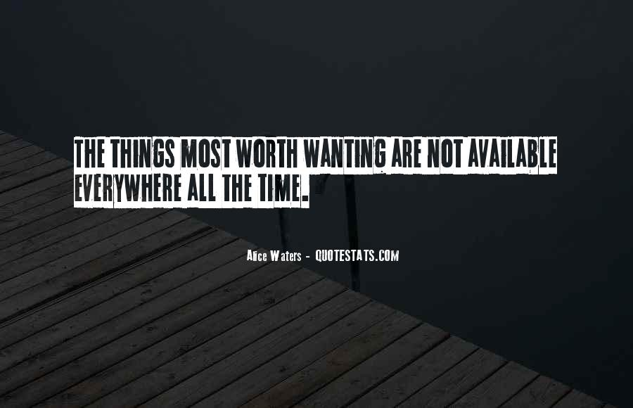 Never Worth My Time Quotes #247909