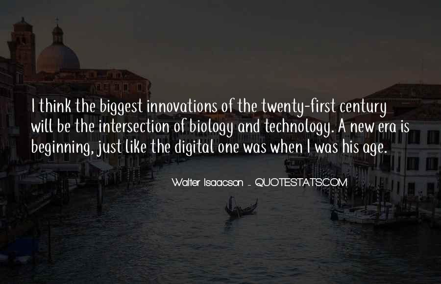 New Age Of Technology Quotes #1456291