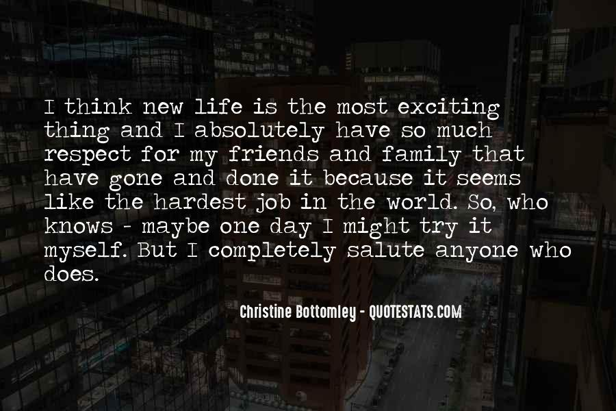 New Exciting Life Quotes #28419