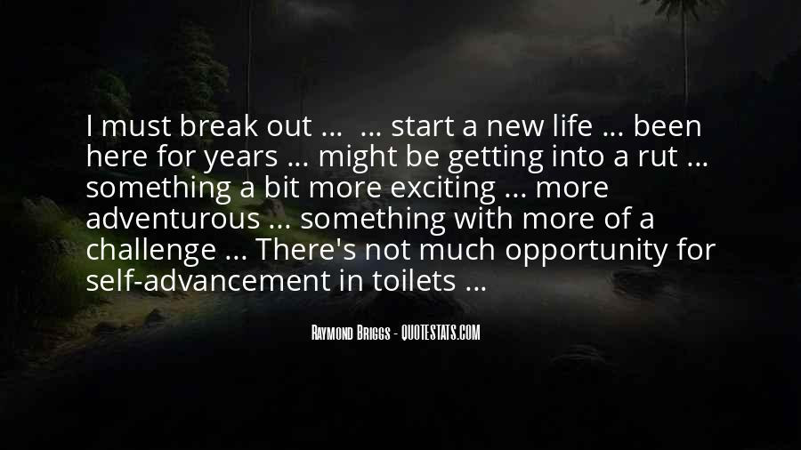 New Exciting Life Quotes #40375