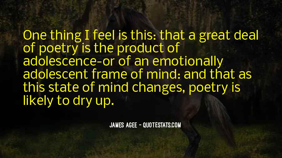 New Frame Of Mind Quotes #27245