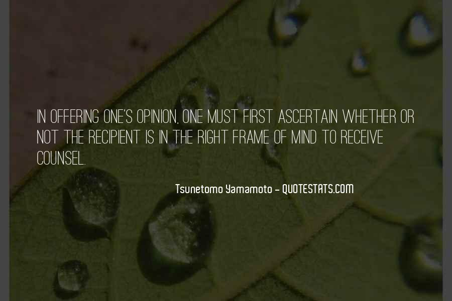 New Frame Of Mind Quotes #645700