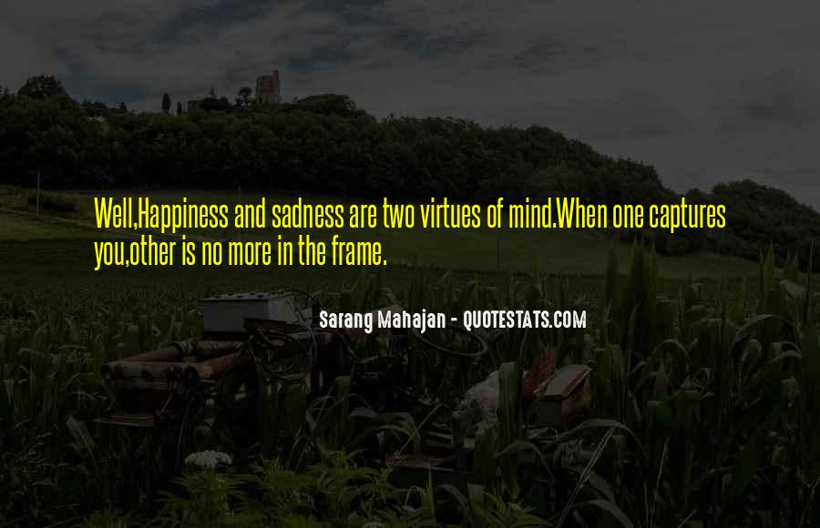 New Frame Of Mind Quotes #959729