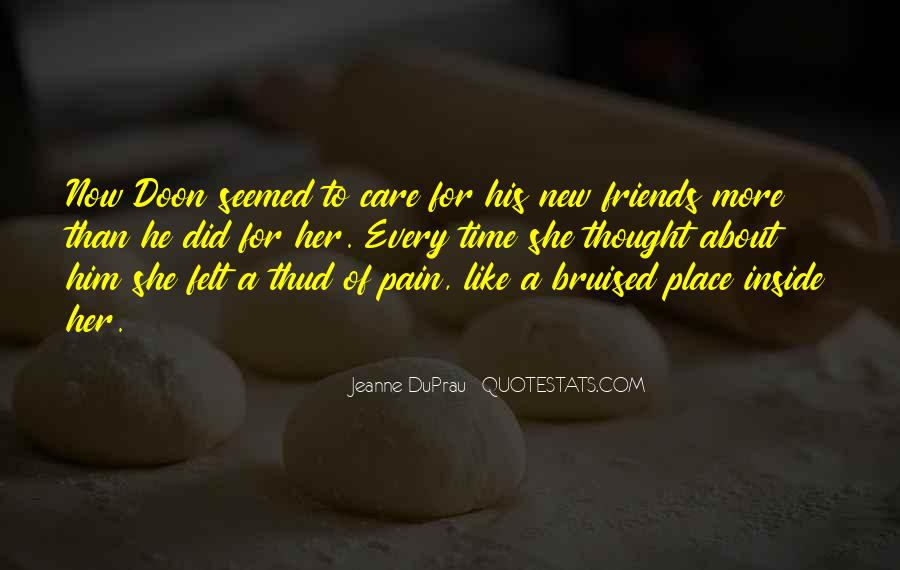 New Place New Friends Quotes #1706115