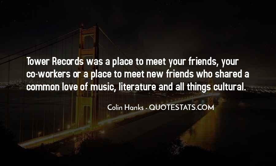 New Place New Friends Quotes #210388
