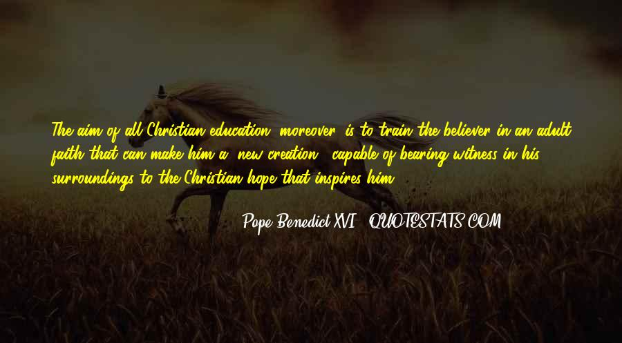 New Pope's Quotes #1120171