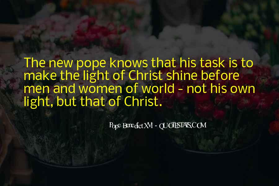 New Pope's Quotes #1440615