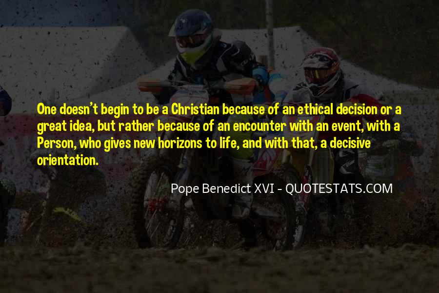 New Pope's Quotes #151891