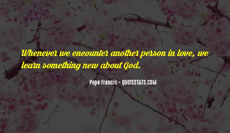 New Pope's Quotes #1573109
