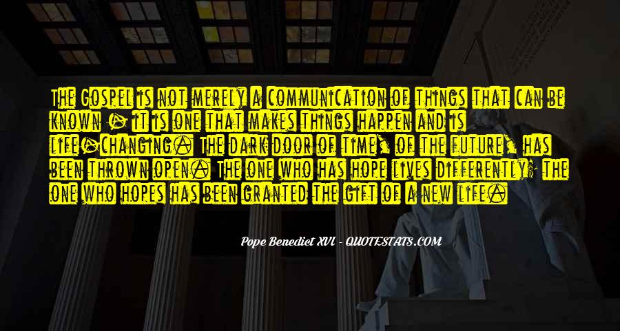 New Pope's Quotes #1665421