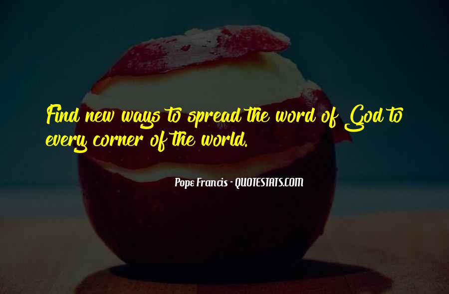 New Pope's Quotes #1665585