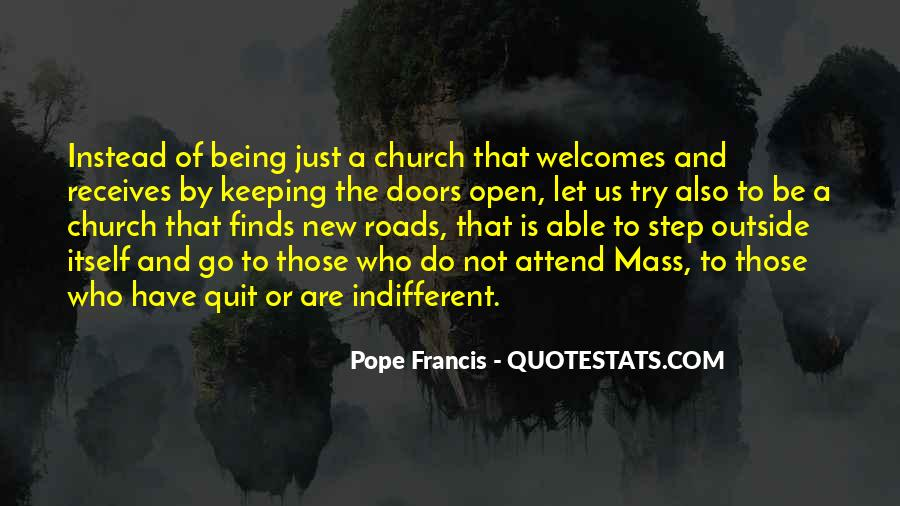 New Pope's Quotes #282509
