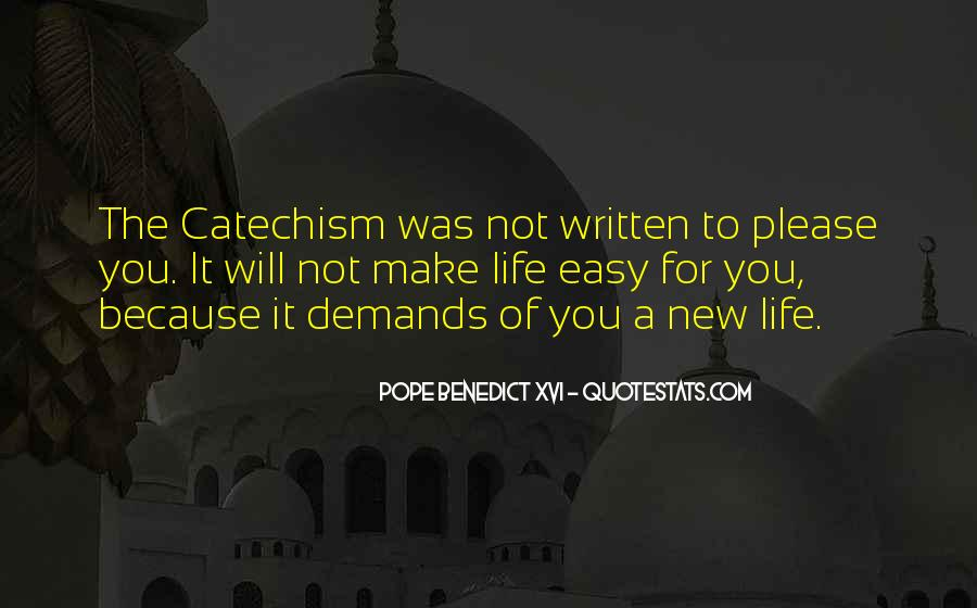 New Pope's Quotes #439499