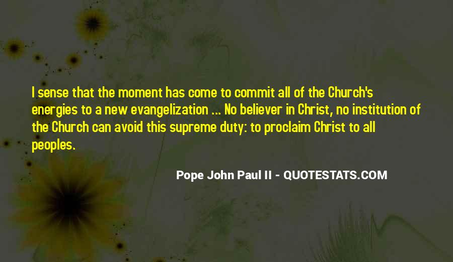 New Pope's Quotes #490743