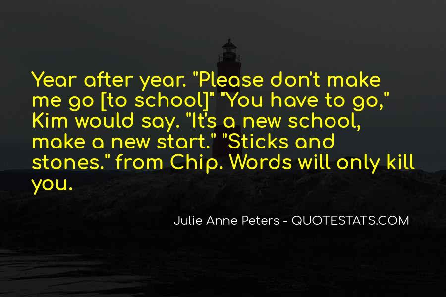 New School Start Quotes #1747154