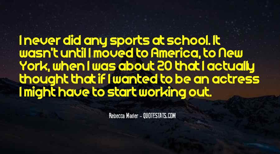 New School Start Quotes #70576