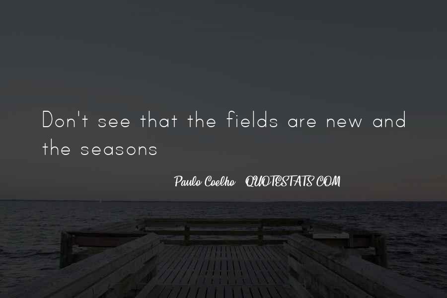 New Seasons Quotes #136816