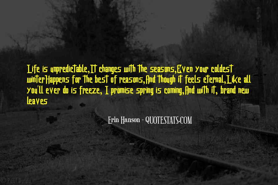 New Seasons Quotes #1373739