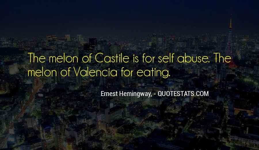Quotes About Castile #110619