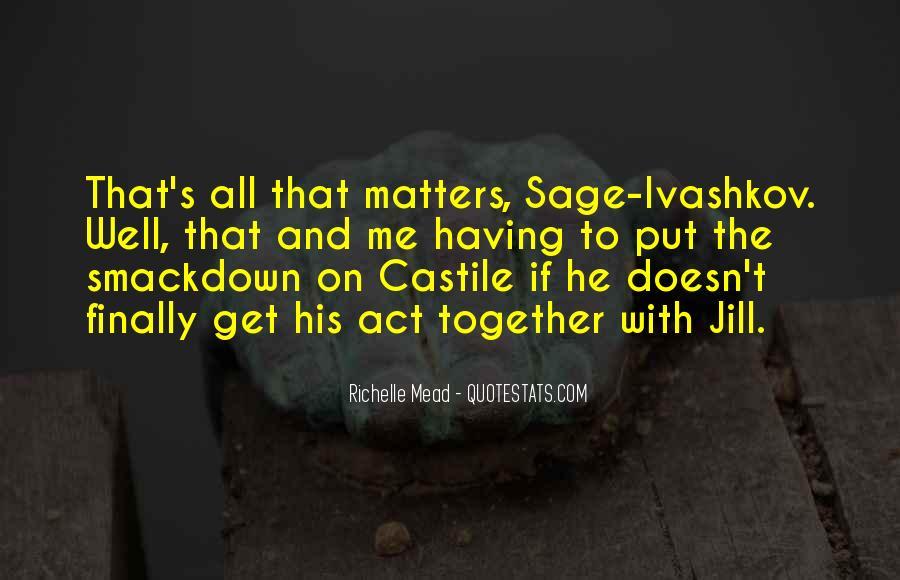 Quotes About Castile #1357165