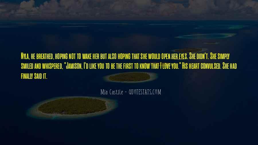 Quotes About Castile #591981
