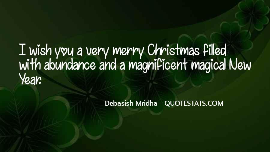 New Year And Merry Christmas Quotes #1085270