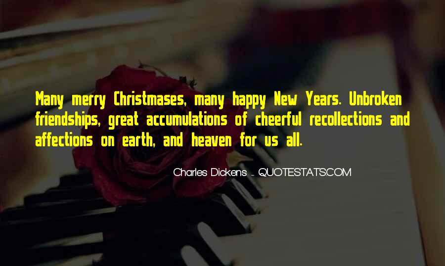 New Year And Merry Christmas Quotes #136379
