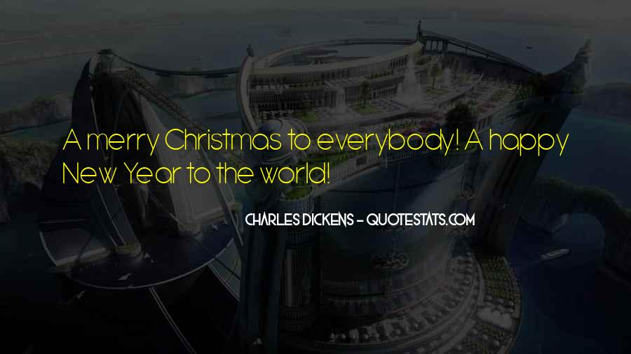 New Year And Merry Christmas Quotes #1557597