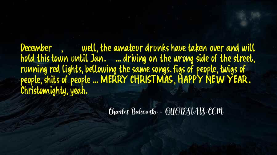 New Year And Merry Christmas Quotes #1798373