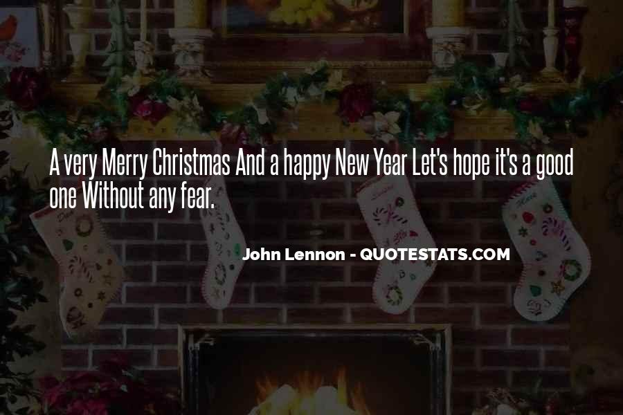 New Year And Merry Christmas Quotes #736058