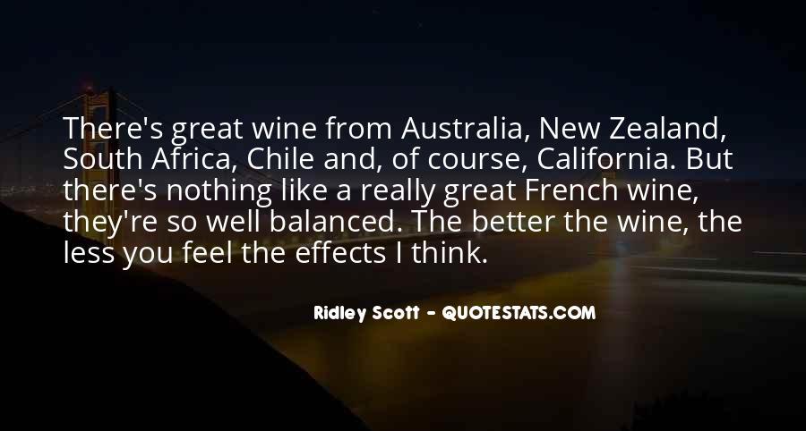 New Zealand Wine Quotes #98790