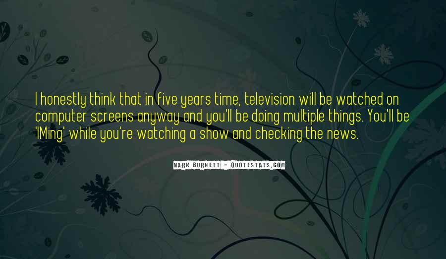 Newscaster Quotes #1379983