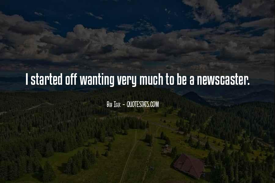 Newscaster Quotes #1864512