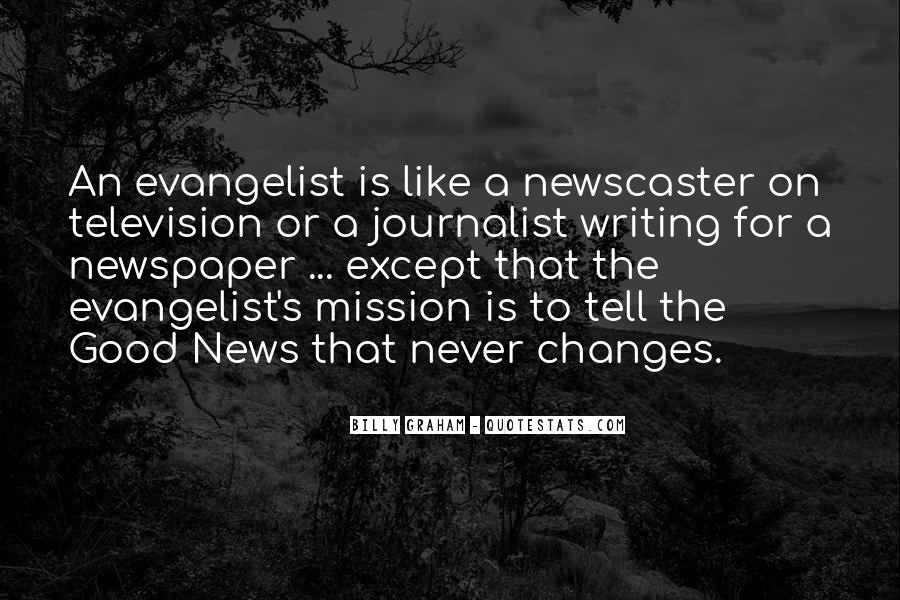 Newscaster Quotes #350806